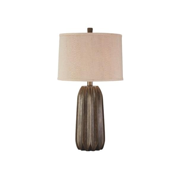 Khalil Gray 30 Inch Table Lamp