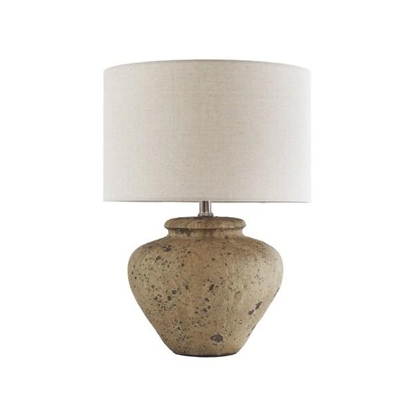 Mahfuz Beige 23 Inch Table Lamp
