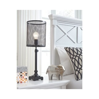 Signature Design by Ashley Asatira Black Table Lamp