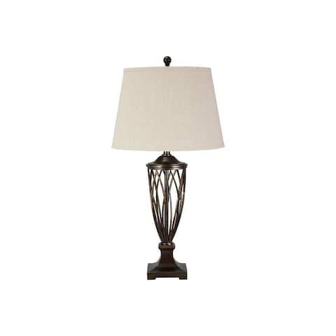 Makai Brown 34 Inch Table Lamp