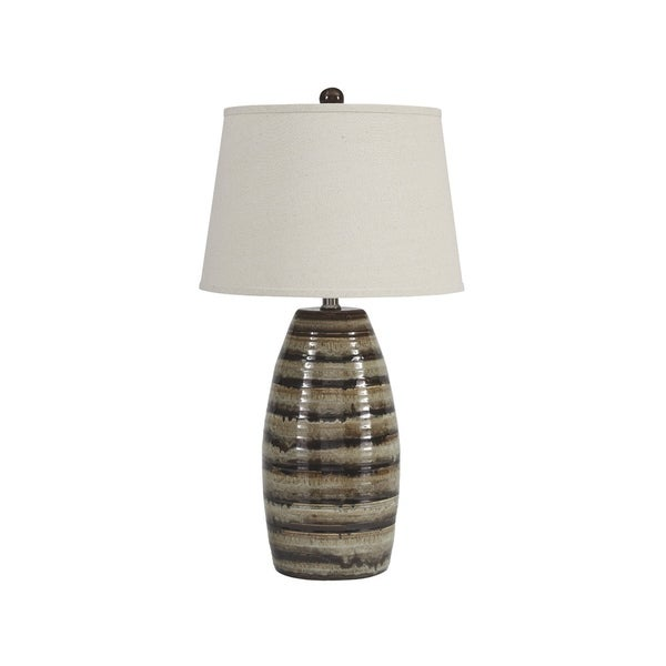 Signature Design by Ashley Darlon Brown Table Lamp