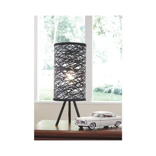 Signature Design by Ashley Nettie Black Table Lamp