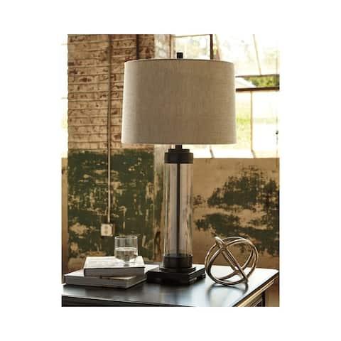 Talar Clear/Bronze 31 Inch Table Lamp
