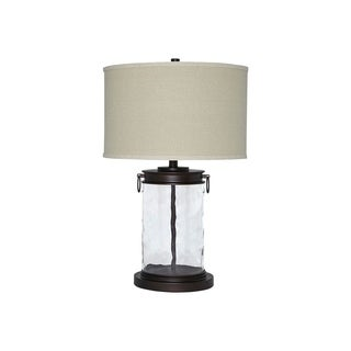 Tailynn Clear and Bronze 26 Inch Table Lamp