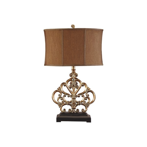 Broderick Antique Copper Table Lamp