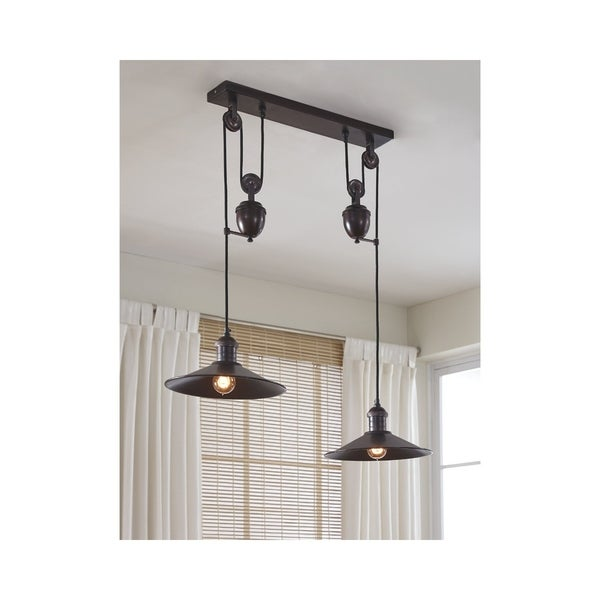 Signature Design by Ashley Kylen Bronze Finish Pendant Light