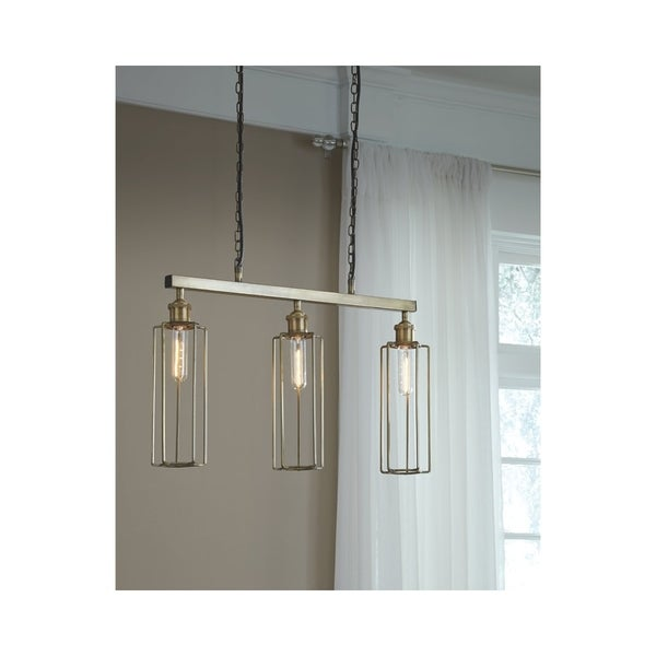 Hilary Brass Finish 26 Inch Wide Pendant Light
