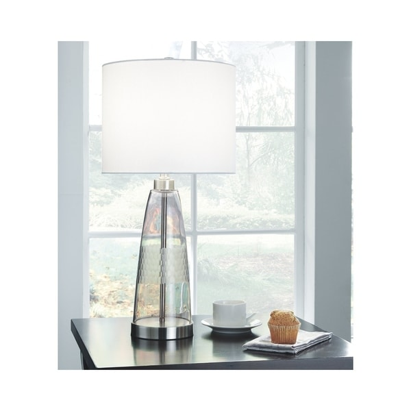 Signature Design by Ashley Larrance Gray Table Lamp