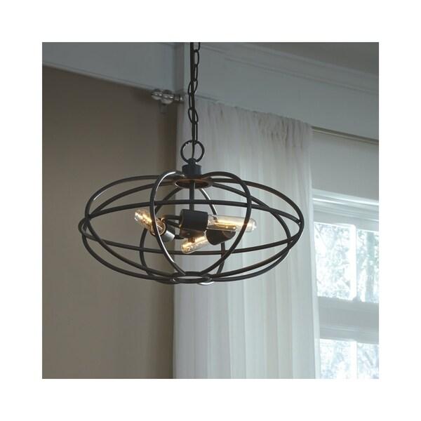 Kenturah Gray 20 Inch Wide Pendant Light