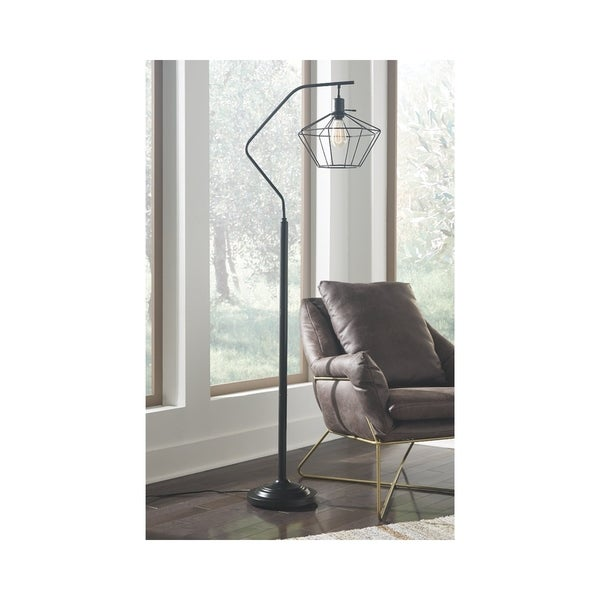 Makeika Black 62 Inch Floor Lamp