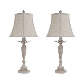 Signature Design by Ashley Ethelsville Antique White Table Lamps Set of 2
