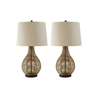 Signature Design by Ashley Erwin Brown Table Lamps Set of 2
