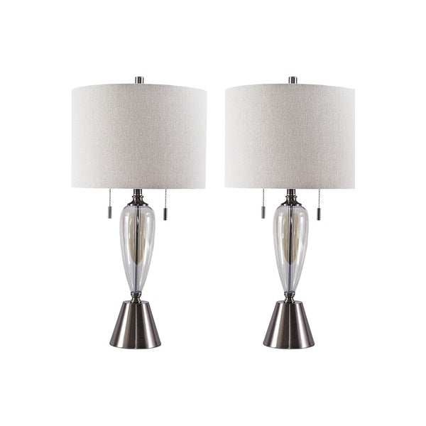 Maizah Champagne 30 Inch Table Lamps Set Of 2