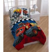 Nickelodeon Blaze Fast Track Reversible Twin Comforter
