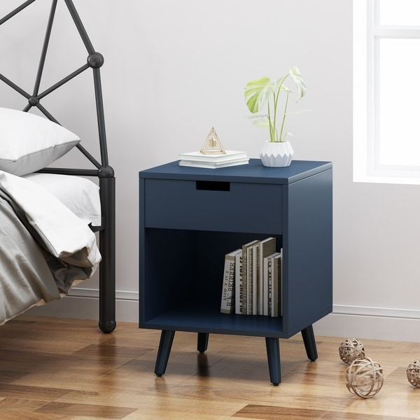 Ossian Modern Wooden Accent Side Table by Christopher Knight Home