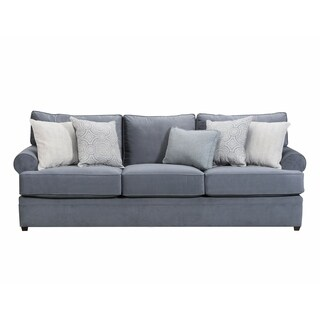 Simmons Upholstery Abington Light Blue Sofa