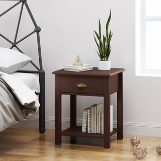 Arnav Traditional Wooden Accent Side Table by Christopher Knight Home