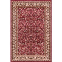 Concord Global Jewel Katbe Red Area Rug - 7'10 x 9'10