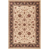 Concord Global Jewel Marisa Ivory Area Rug - 6'7 x 9'1