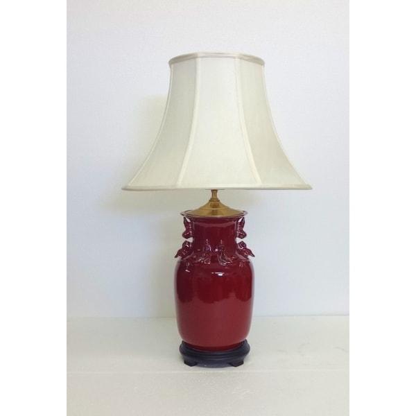 Oxblood Porcelain Table lamp