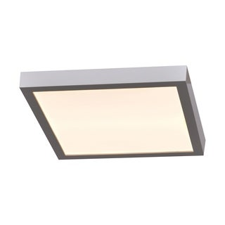 Access Lighting Ulko Exterior 1-light Silver Medium Square LED Outdoor Flush Mount