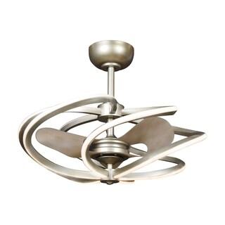 Access Lighting Vortex 6-light Inspired Gold Medium LED Pendant with Fan