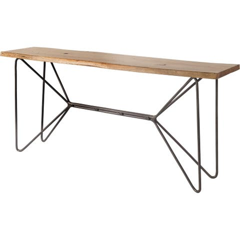 Mercana Papillon (Box A & B) Wooden Console Table