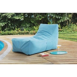 Sunjoy King Turquoise Blue Outdoor Chair Lounger