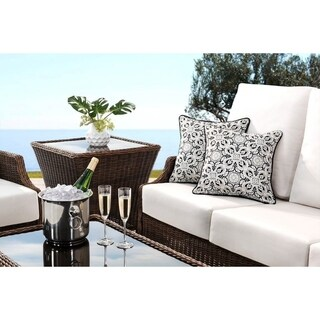 Buy Black Sunjoy Outdoor Cushions Pillows Online At Overstock Com