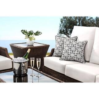 Buy Black Sunjoy Outdoor Cushions Pillows Online At Overstock Com