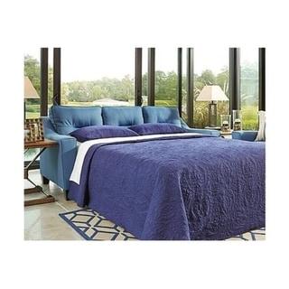 Shop Ashley Benchcraft Forsan Nuvella Contemporary Blue