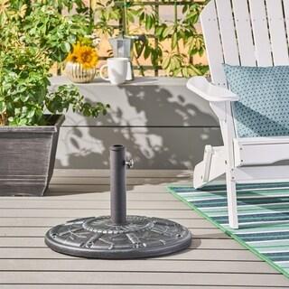 Dave Outdoor 60-pound Concrete Circular Umbrella Base by Christopher Knight Home