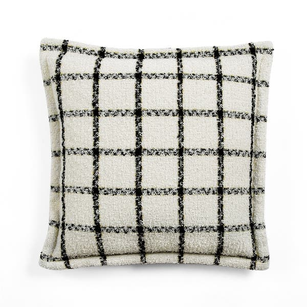 Lush Decor Erica Plaid Decorative Throw Pillow