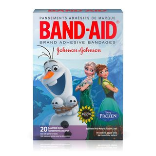 Band Aid Disney Frozen 20-Count Adhesive Bandages Assorted Sizes