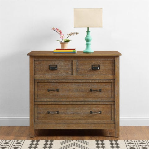 Avenue Greene Nassau Rustic Coffee 3-Drawer Dresser