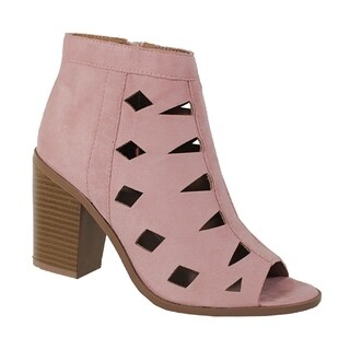 YOKI-NANNO-29-Womens open toe bootie with chop out