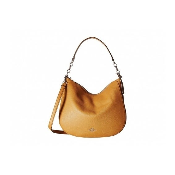 6a1cdba87 Shop Coach Chelsea 32 Pebble Leather Hobo Handbag - Free Shipping Today -  Overstock - 21012783