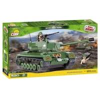 COBI Small Army M46 Patton Tank 520 Piece Construction Blocks Building Kit