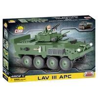 COBI Small Army LAV III APC- Light Armored Vehicle 480 Piece Construction Blocks Building Kit
