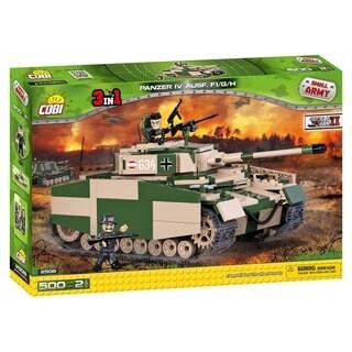 COBI Small Army World War II Panzer IV Ausf. F1/G/H 500 Tank Piece Construction Blocks Building Kit