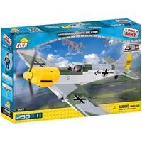COBI Small Army World War II Messerschmitt BF 109E Airplane 250 Piece Construction Blocks Building Kit