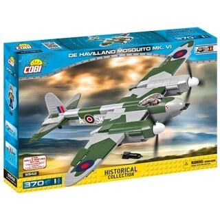COBI Small Army World War II de Havilland Mosquito MK. VI Airplane 385 Piece Construction Blocks Building Kit