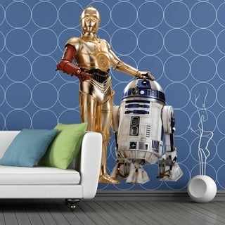 """Movie Star Wars Robot Full Color Wall Decal Sticker K-958 FRST Size 30""""x47"""""""