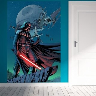 """Darth Star Wars Movie Full Color Wall Decal Sticker K-976 FRST Size 30""""x47"""""""