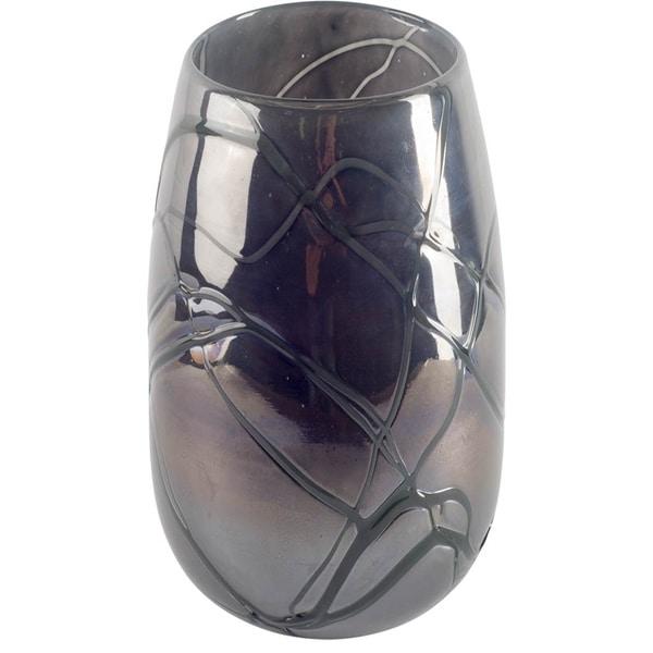 Mercana Marier I (Small) Blue Glass Vase