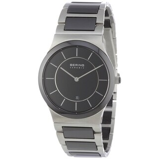 Bering Men's 32239-747 'Ceramic' Two-Tone Stainless steel and Ceramic Watch
