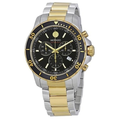 Movado Men's 2600146 'Series 800' Chronograph Two-Tone Stainless Steel Watch
