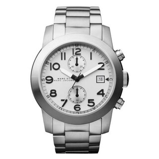 Marc Jacobs Men's MBM5030 'Larry' Chronograph Stainless Steel Watch