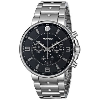 Link to Movado Men's 0606759 'SE. Pilot' Chronograph Stainless Steel Watch Similar Items in Men's Watches
