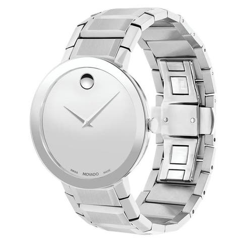 Movado Men's 0607178 'Sapphire' Stainless Steel Watch